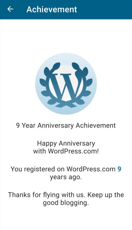 Bloganniversary!!